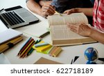 education concept. students... | Shutterstock . vector #622718189