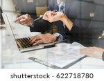 business concept. business... | Shutterstock . vector #622718780