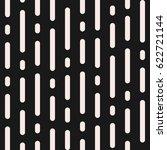 vector monochrome seamless... | Shutterstock .eps vector #622721144