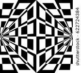 seamless geometric texture.... | Shutterstock .eps vector #622724384