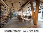 hotel lobby restaurant interior   Shutterstock . vector #622725128