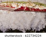 cooking sushi rolls at home | Shutterstock . vector #622734224