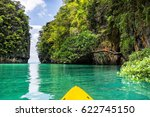 amazing view of lagoon in koh... | Shutterstock . vector #622745150