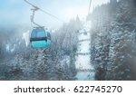 Ski Lifts In Austria.