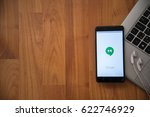 los angeles  usa  april 16 ... | Shutterstock . vector #622746929