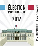 france presidential election... | Shutterstock .eps vector #622751294