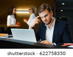 Small photo of Conflict in office gossip Conspiracy blackmail, extortio