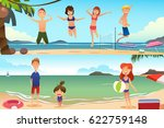 a vector illustration of family ... | Shutterstock .eps vector #622759148