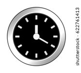 """glossy icon """"watch"""". 3d... 