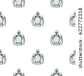 plate armor icon in cartoon...   Shutterstock .eps vector #622772318