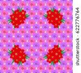 modern motley floral seamless... | Shutterstock .eps vector #622776764