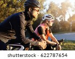 outdoor image of sporty young... | Shutterstock . vector #622787654