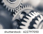 engine gear wheels  industrial... | Shutterstock . vector #622797050