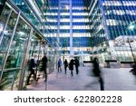 london train and office... | Shutterstock . vector #622802228
