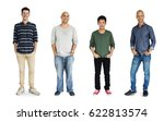 diversity adult men set gesture ... | Shutterstock . vector #622813574