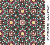 seamless oriental pattern.... | Shutterstock . vector #622819604