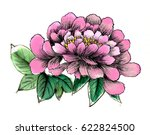 chinese brush and ink... | Shutterstock . vector #622824500