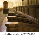 Church Pews In Monastery In...
