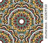 seamless oriental pattern.... | Shutterstock . vector #622829510