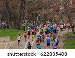 boston  usa   april 17  2017 ...   Shutterstock . vector #622835408