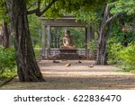the samadhi statue is a statue... | Shutterstock . vector #622836470