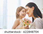 happy mother's day  child... | Shutterstock . vector #622848704