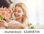 happy mother's day  child... | Shutterstock . vector #622848734