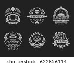 bakery badge icon fashion... | Shutterstock .eps vector #622856114