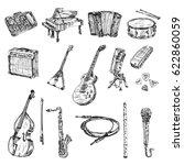 Hand Drawn World Musical...