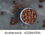 chocolate cake  chocolate... | Shutterstock . vector #622864304