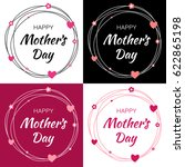 happy mothers day vector... | Shutterstock .eps vector #622865198