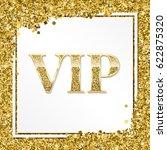 vip premium card. golden design ...   Shutterstock .eps vector #622875320