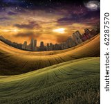High Resolution City Landscape