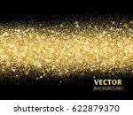 sparkling glitter border on...   Shutterstock .eps vector #622879370