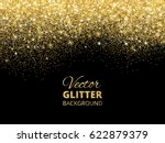 festive background with falling ... | Shutterstock .eps vector #622879379