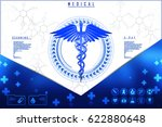 3d illustration health care and ... | Shutterstock . vector #622880648