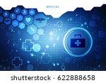 2d rendering first aid kit | Shutterstock . vector #622888658