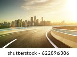 highway overpass modern city... | Shutterstock . vector #622896386
