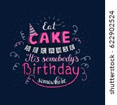 unique lettering poster with a... | Shutterstock .eps vector #622902524