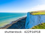 clear sky over a blue sea by... | Shutterstock . vector #622916918