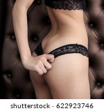 beautiful slim body of woman  ... | Shutterstock . vector #622923746