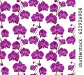 tropical seamless pattern with... | Shutterstock .eps vector #622926908