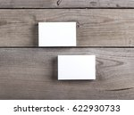 photo of business cards.... | Shutterstock . vector #622930733
