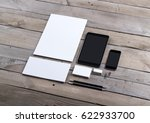 photo of branding identity mock ...   Shutterstock . vector #622933700