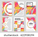 abstract vector layout... | Shutterstock .eps vector #622938194