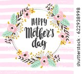 mother day concept with hand... | Shutterstock .eps vector #622938998