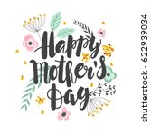 mother's day background with... | Shutterstock .eps vector #622939034