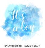 baby gender reveal concept... | Shutterstock .eps vector #622941674