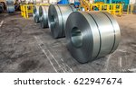 cold rolled steel coils in...   Shutterstock . vector #622947674