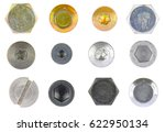 Metal Screw Head. Collection...